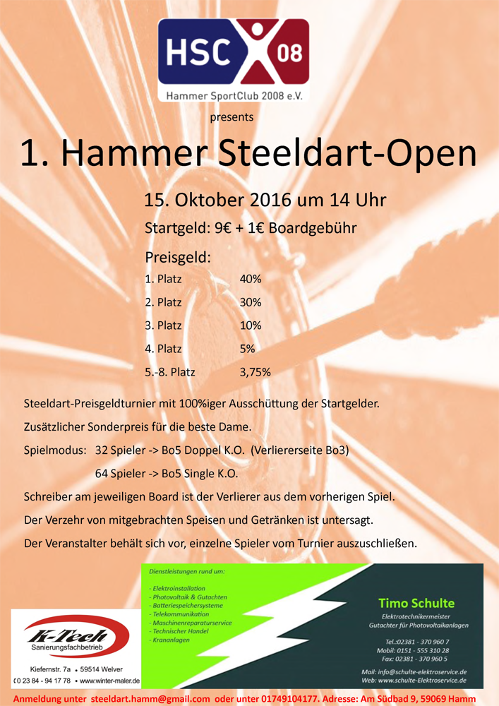 1.Hammer Steeldart-Open